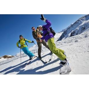 Sortie de ski en bus à Tignes